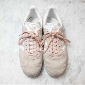 Adidas Gazelle Vapor Pink   White   Gold Metallic